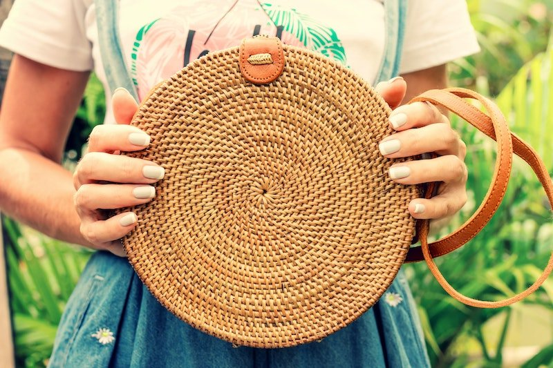 bali shopping guide - rattan bags