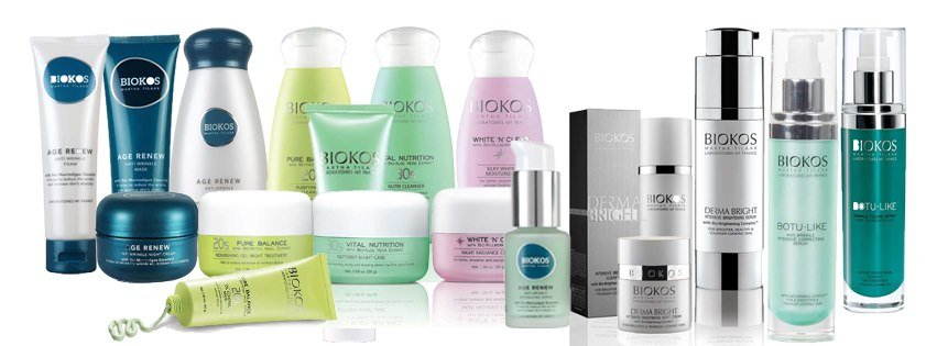 biokos skincare products pic