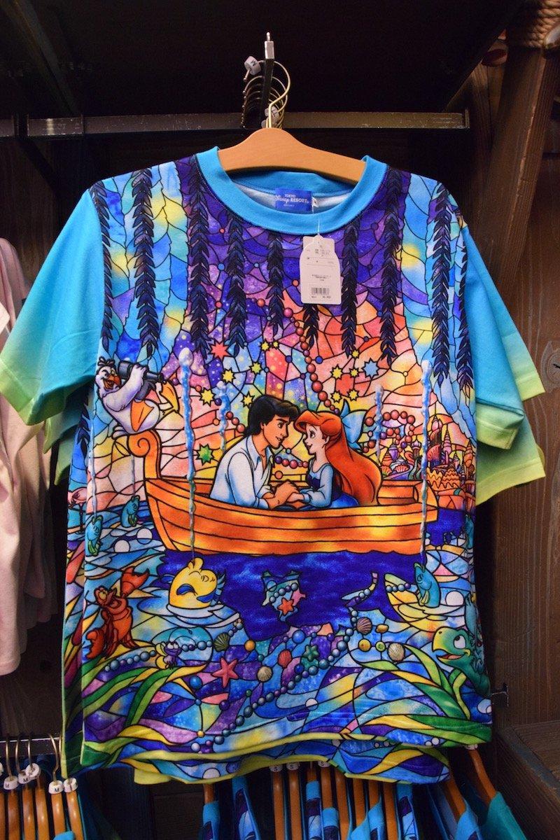 tokyo disney little mermaid shirt pic