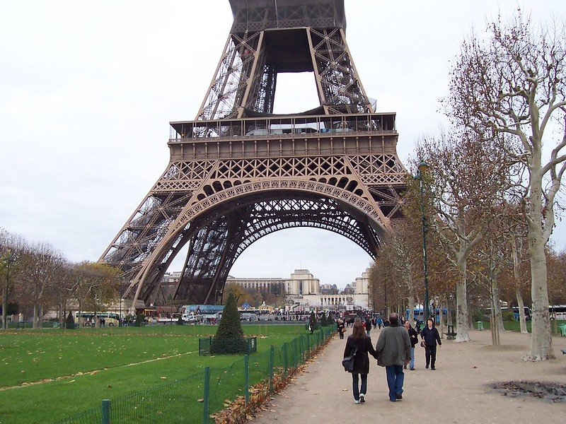 eiffel tower walk by neil willsey