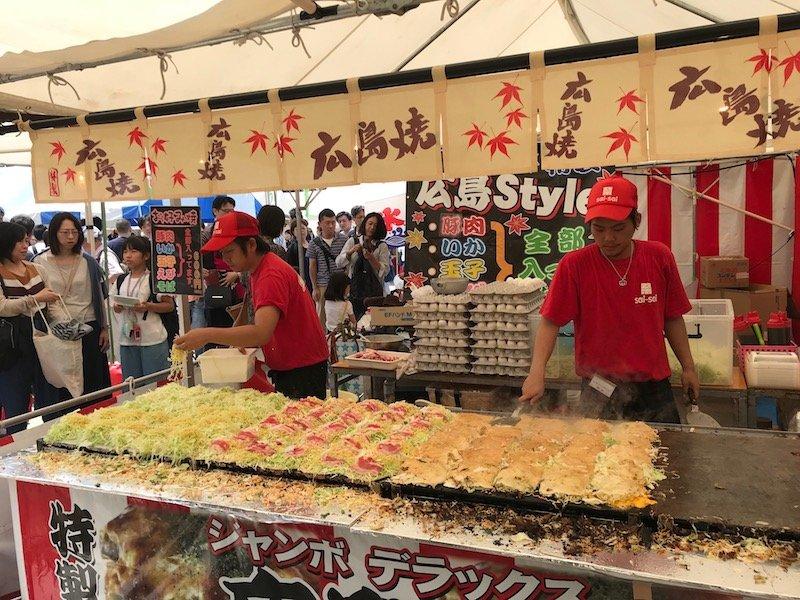 japanese street food snacks ueno park