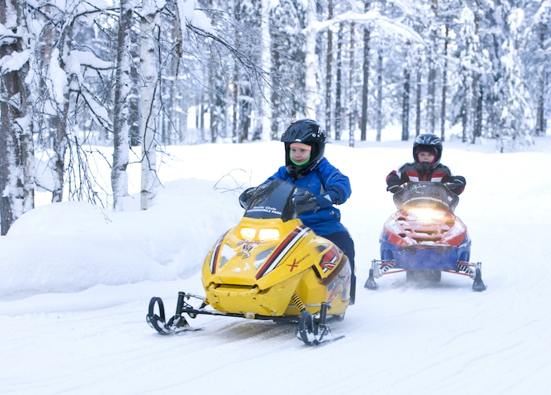best things to do in rovaniemi in winter