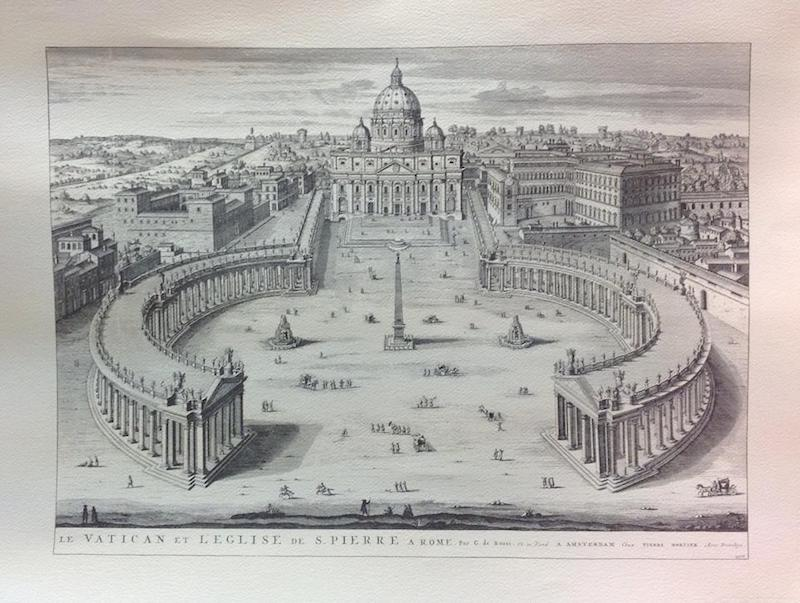 prints from rome - map of vatican pic