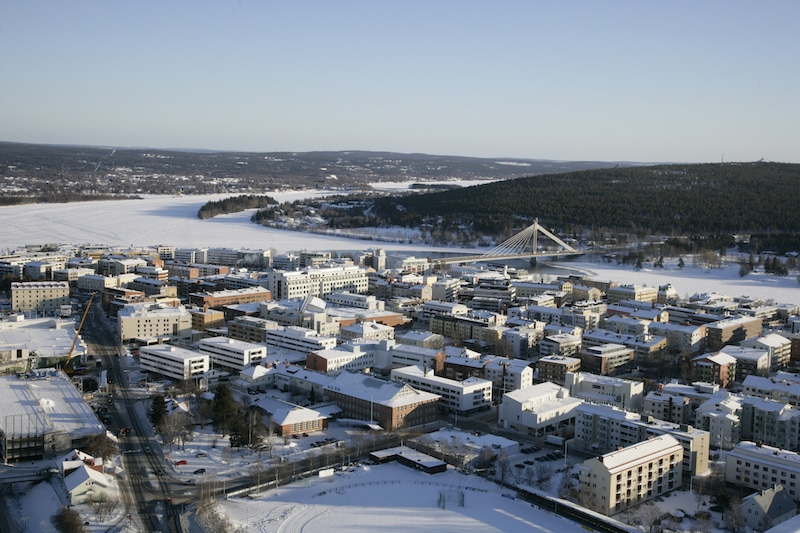 where is Rovaniemi