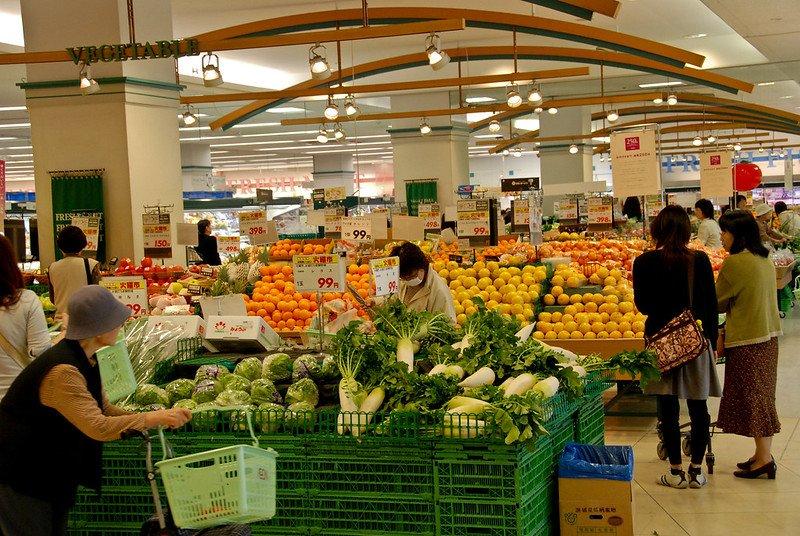 tokyo supermarkets aeon by ben kubota