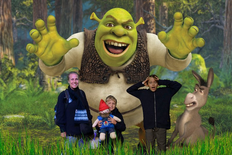 Shrek Adventure London reviews family pics