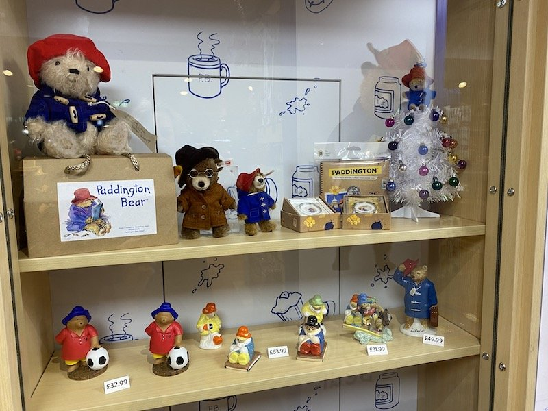 Paddington bear ornaments pic