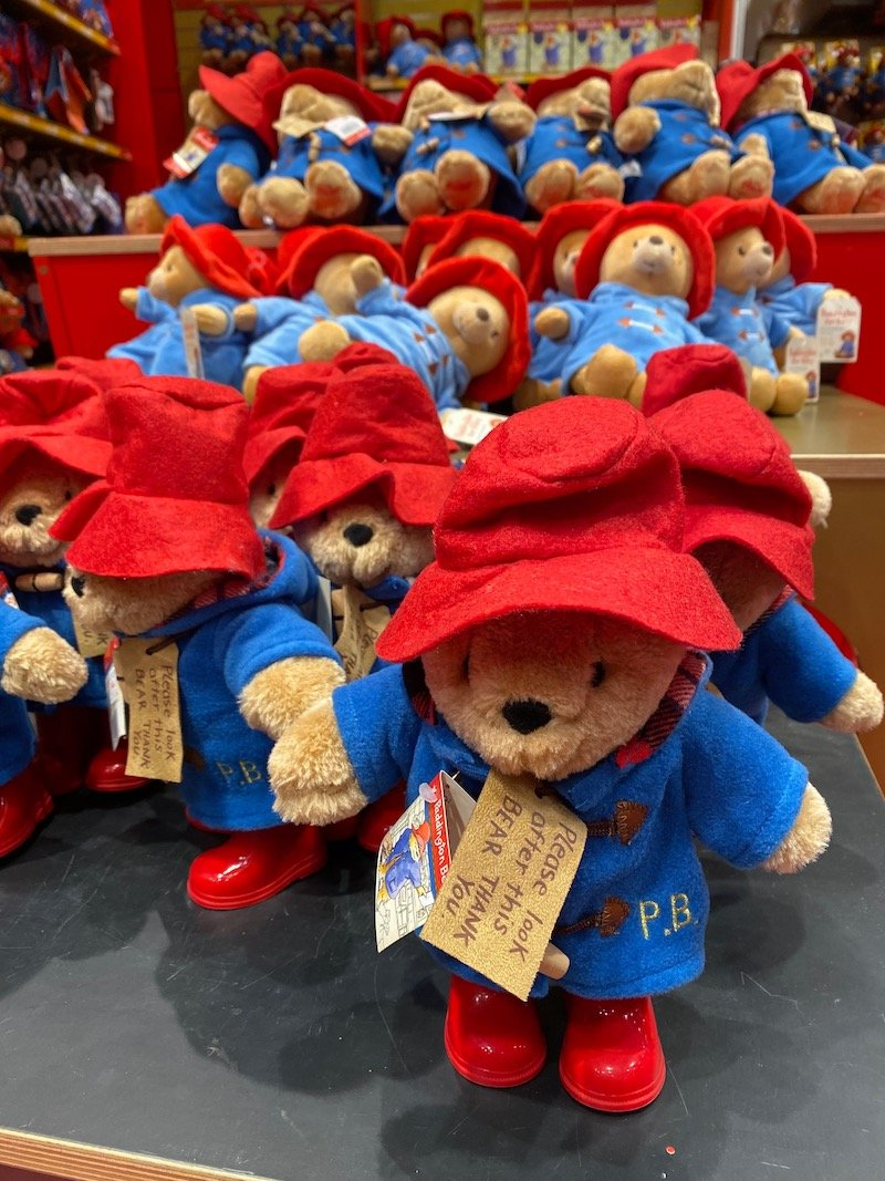hamleys paddington bear pic