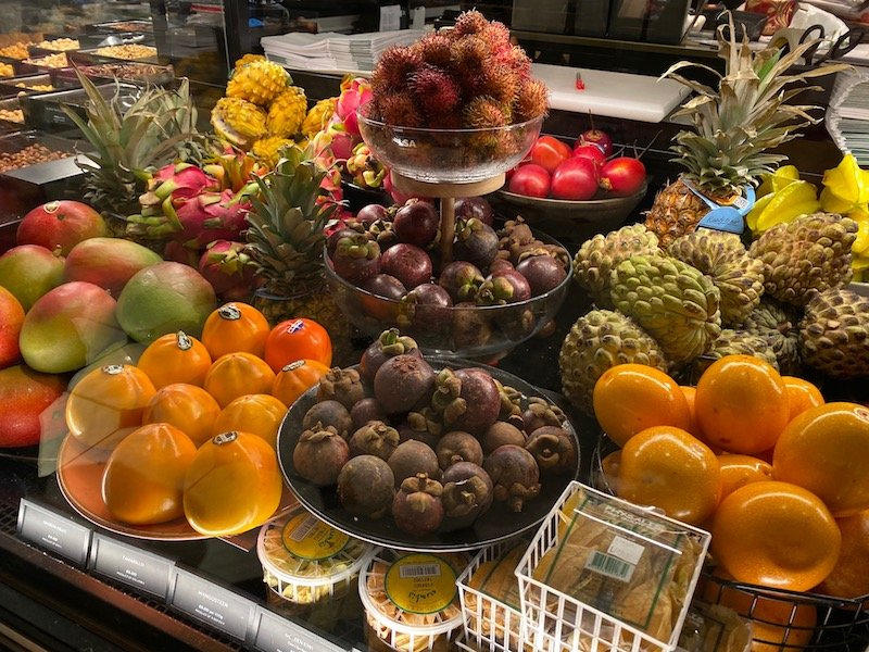 harrods food hall fruits