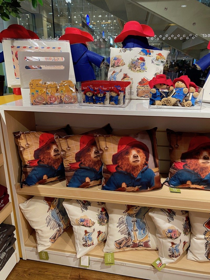 paddington bear cushions