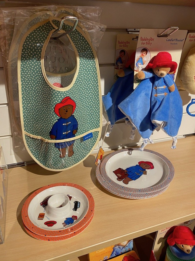 paddington bear shop in london baby gifts