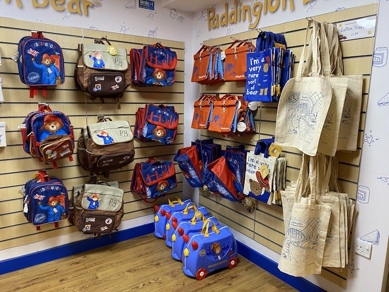 paddington bear shop in london bags and totes pic