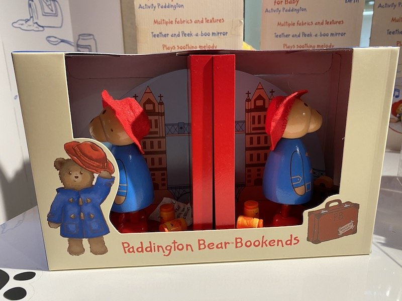 paddington bear bookends