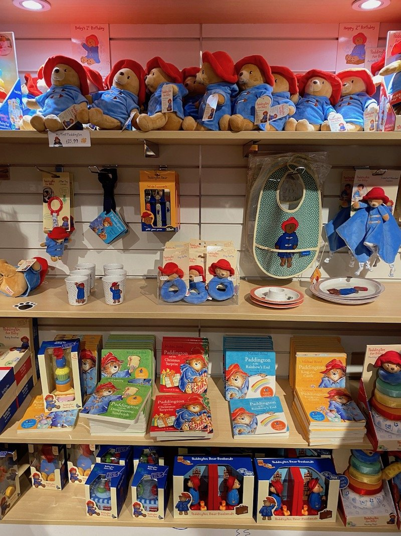 paddington merchandise