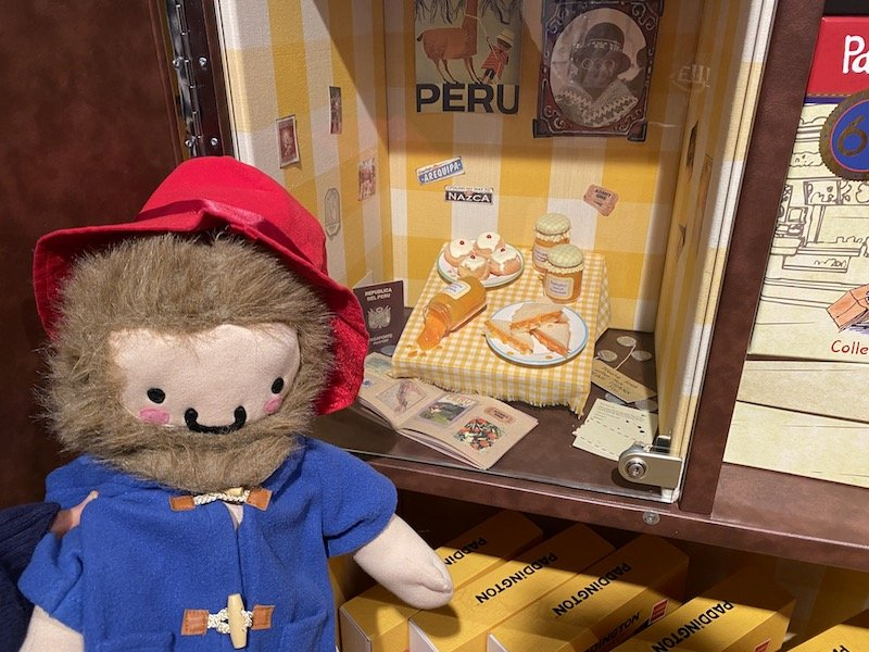 paddington bear shop in london secret compartment