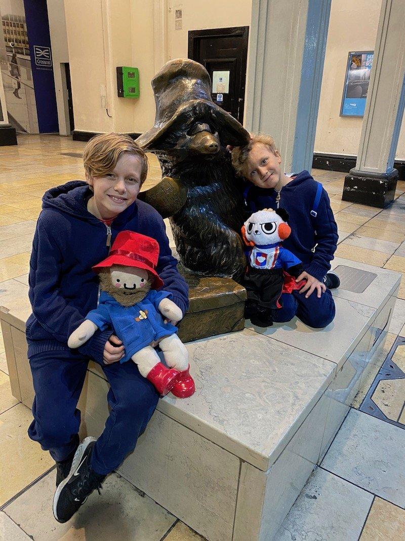 paddington bear statue pic