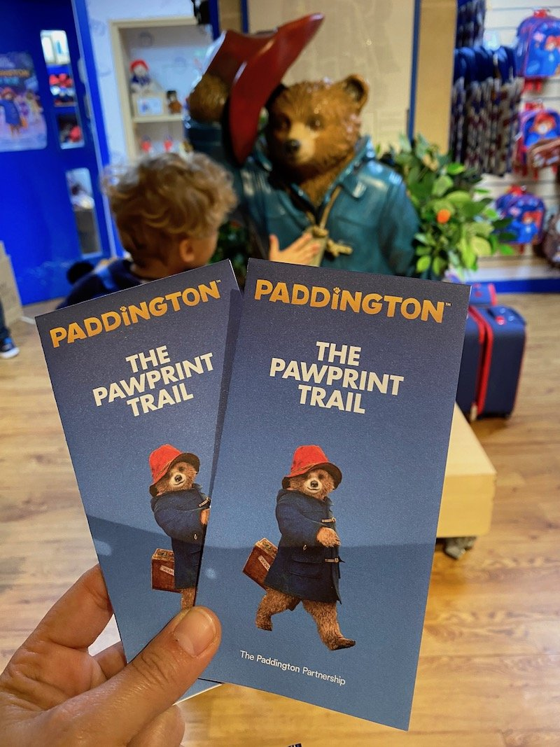 paddington bear trail london