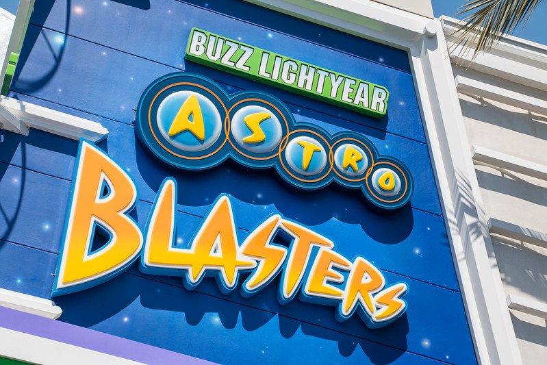 astro blasters buzz lightyear ride by harshlight flickr