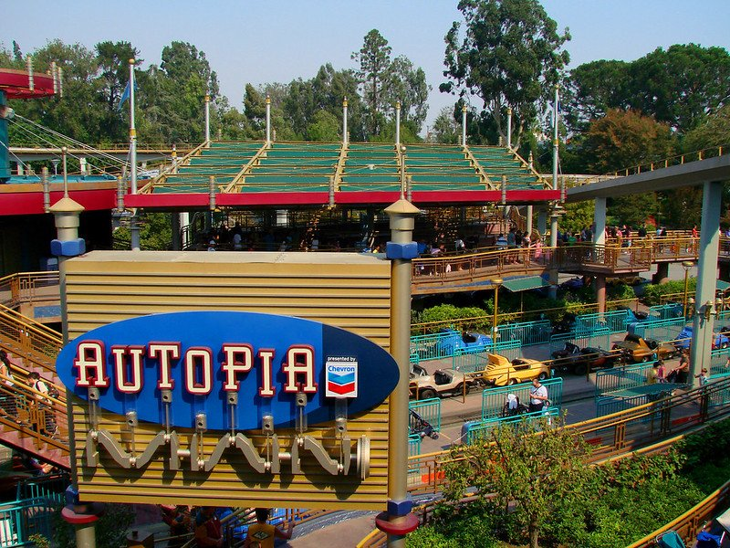 autopia disneyland pic by craig howell
