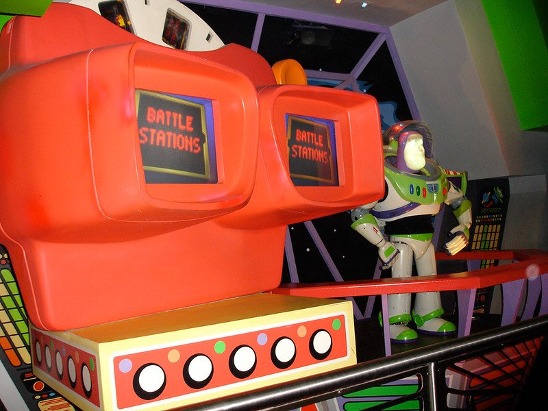 buzz lightyear space ranger spin ride by daryl mitchell