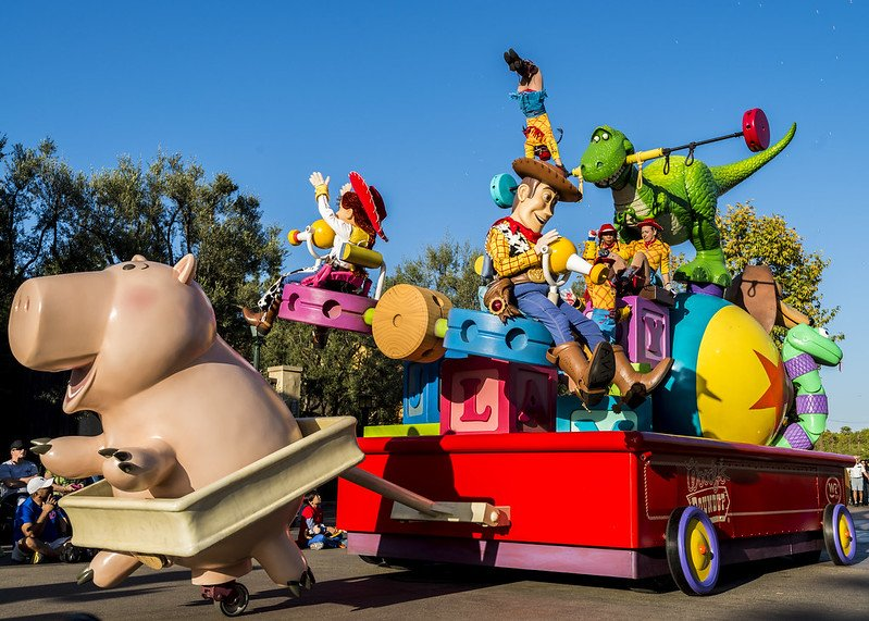 disney pixar parade by hubert yu