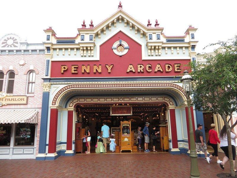 disneyland california penny arcade by ken lund
