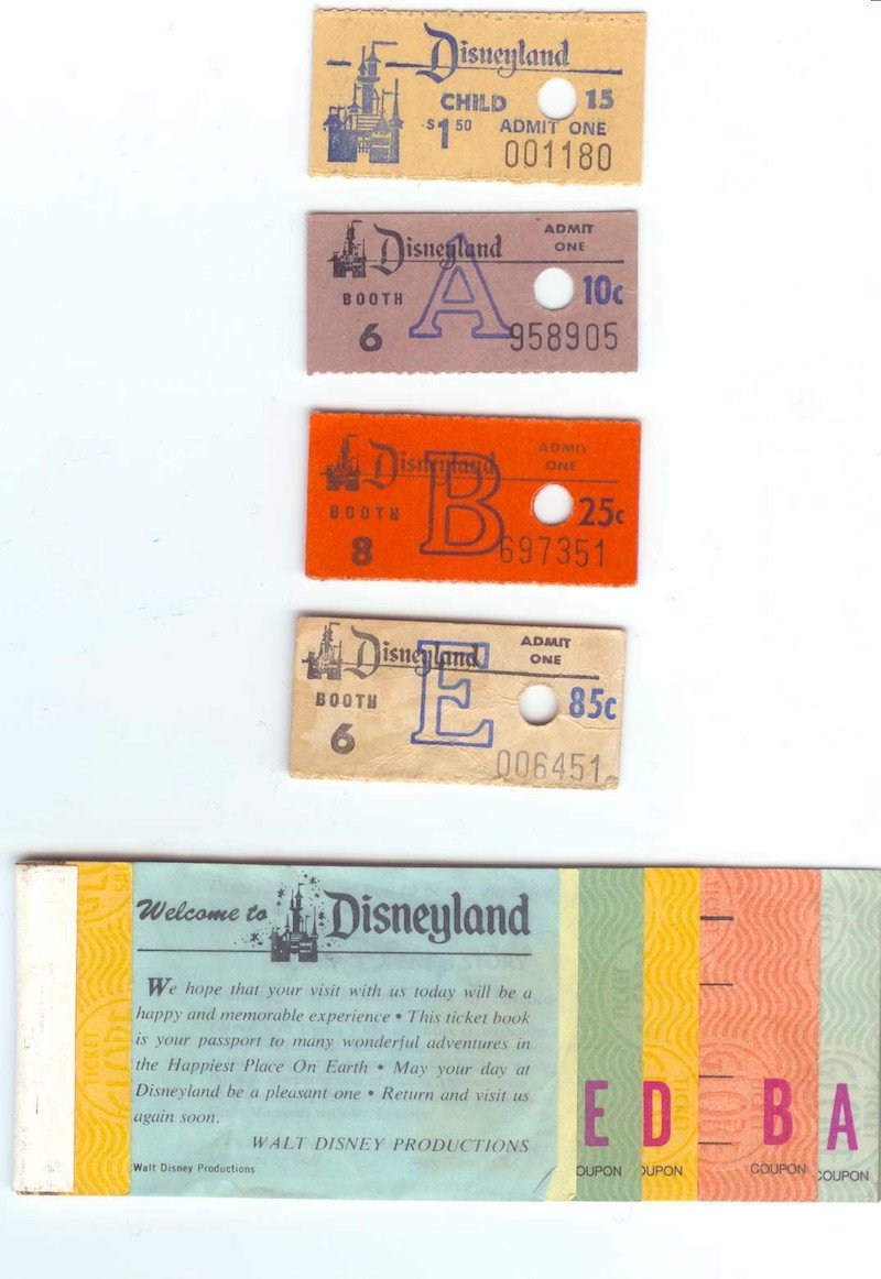 first time at disneyland tickets by cory doctorow