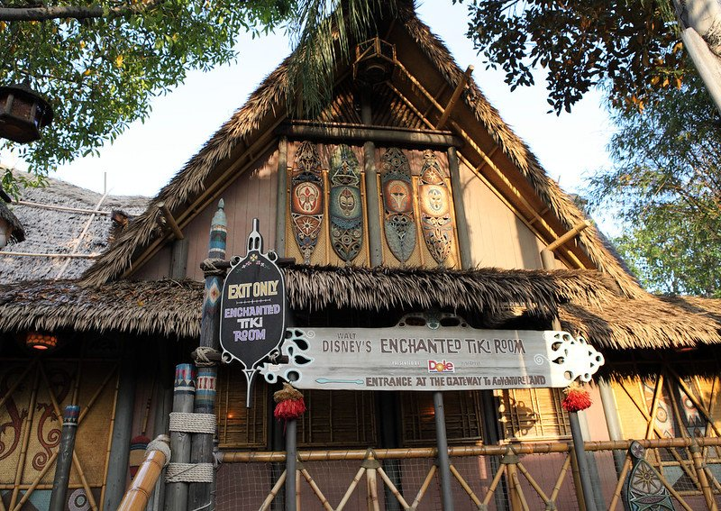 disneys enchanted tiki room at disneyland by steven miller
