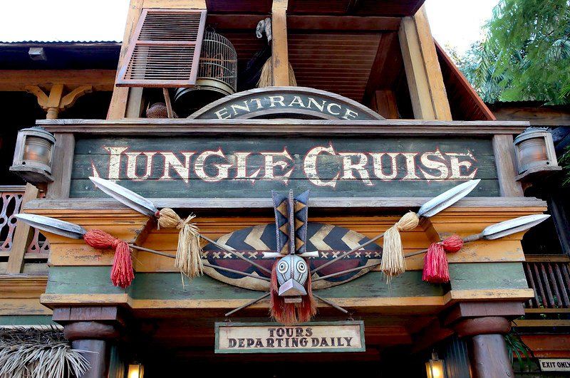 jungle cruise entrance sign pic by steven miller