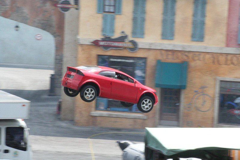 lights motors action extreme stunt show by jeff christiansen