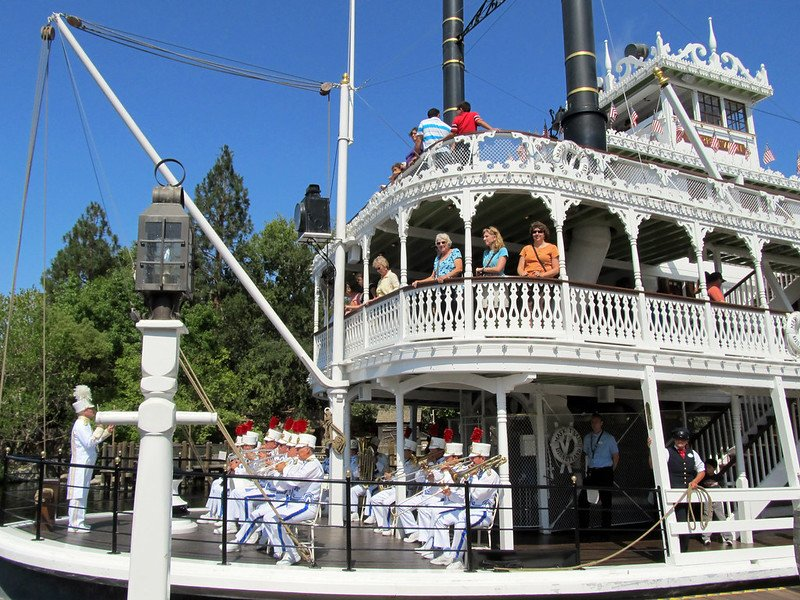 mark twain riverboat by daryl mitchell