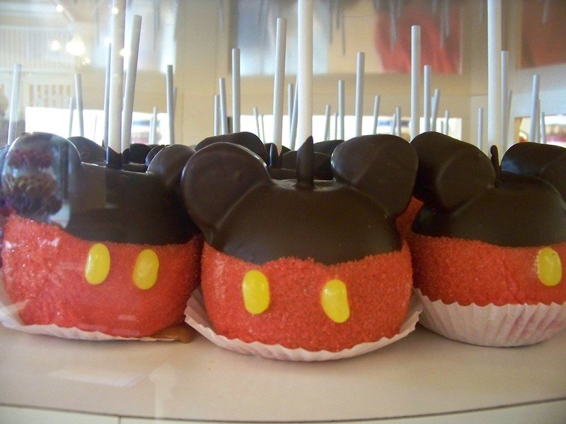 mickey mouse chocolate covered appled by loren javier flickr