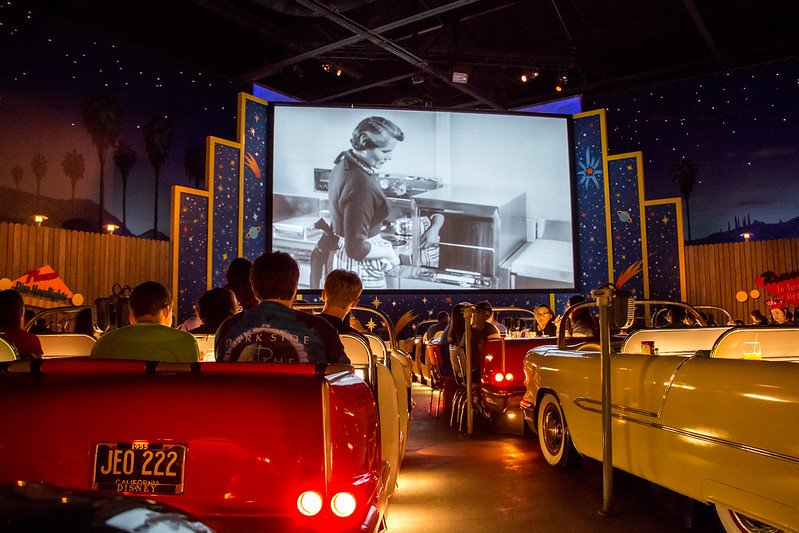 sci fi dine in theater restaurant hollywood studios by harshlight flickr