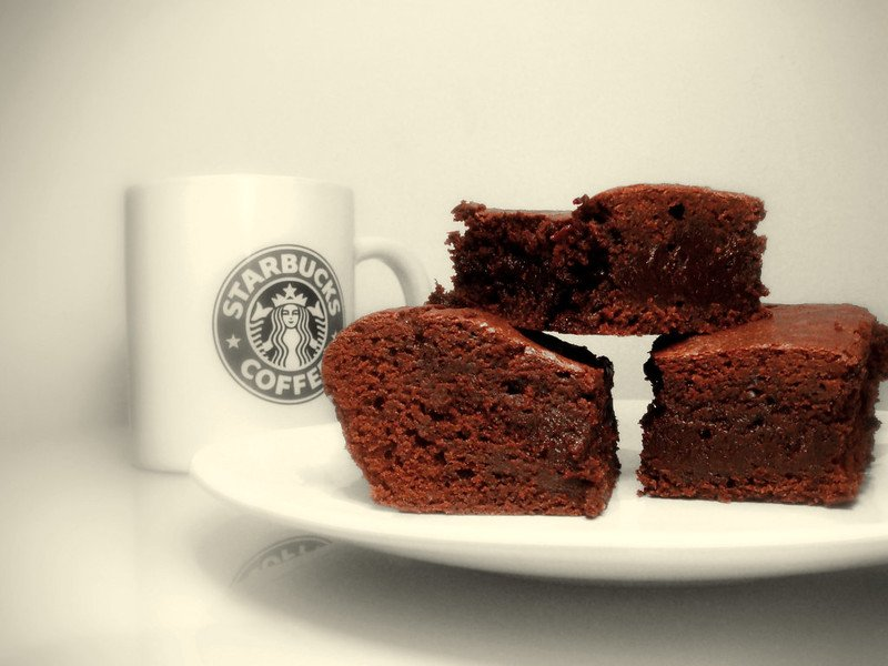 starbucks chocolate brownies by kurtis garbutt