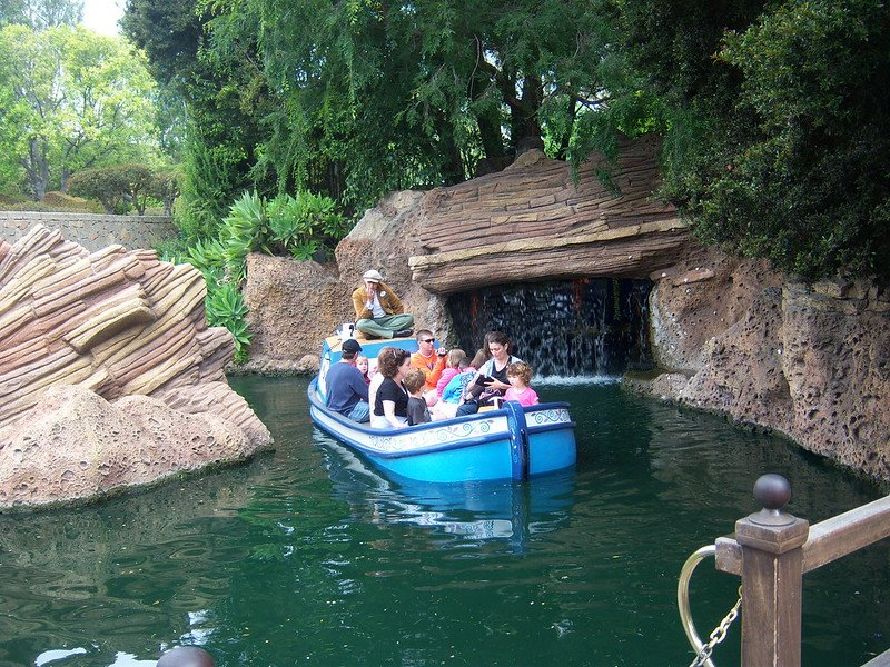 storybook land canal boats ride at disneyland pic by loren javier