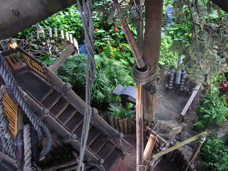 swiss family robinson treehouse by loren javier