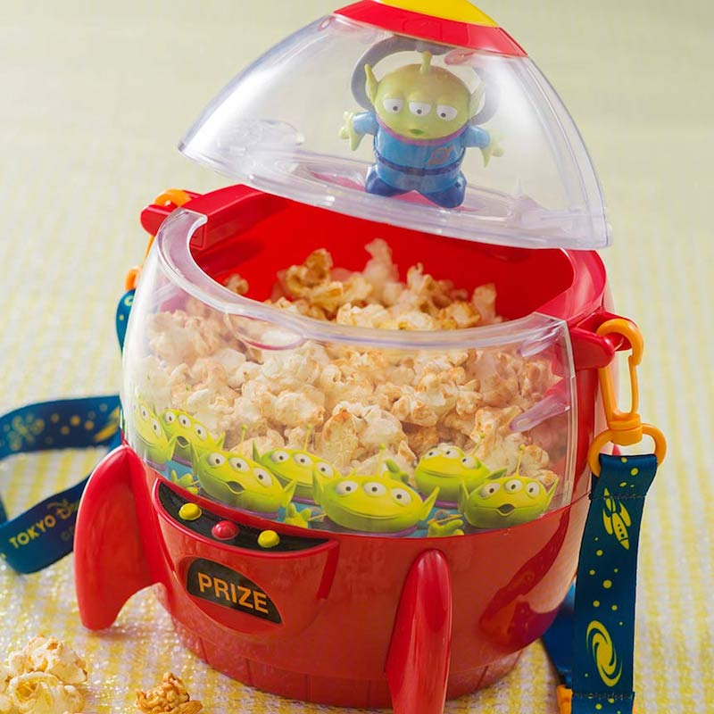 Buzz Lightyear Popcorn Bucket Tokyo Disney Sea Limited Container Toy Story F//S