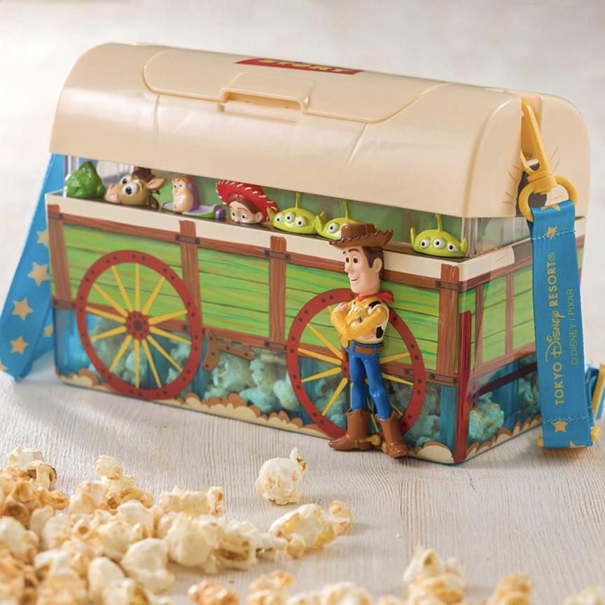 tokyo disneysea woody popcorn bucket