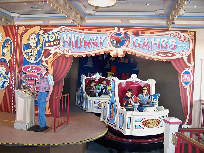 toy story midway mania ride pic by loren javier