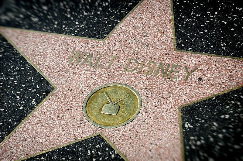 walt disney hollywood star pic by nikkorz