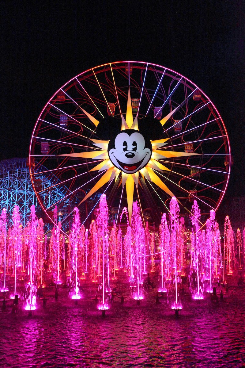 world of color at disney california adventure by steven miller