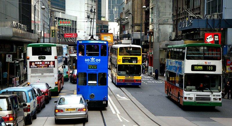 hong kong city transport by bernard spragg