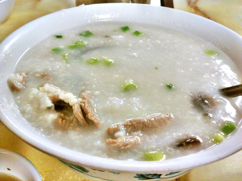 hong kong congee by ron dollette