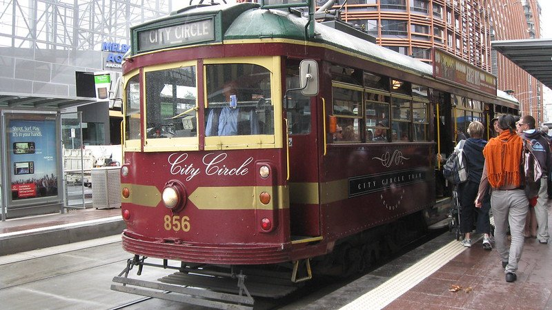 melbourne city circle tram by sarah stewart