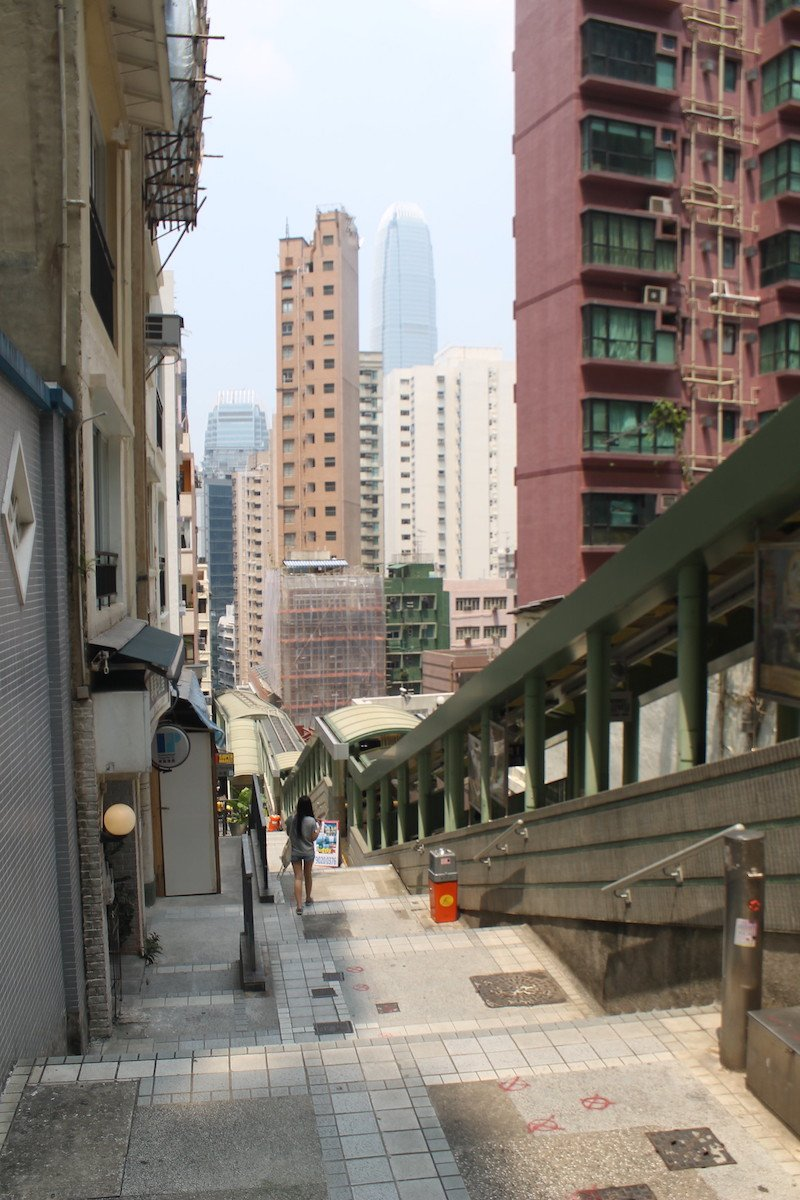 moving escalators in hong kong by ironypoisoning