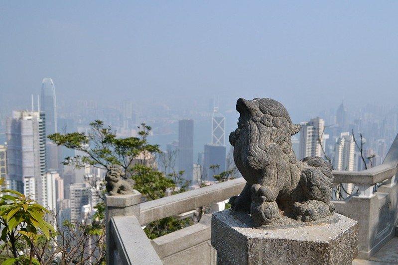 peak lookout at victoria peak flickr by kawaiikiri