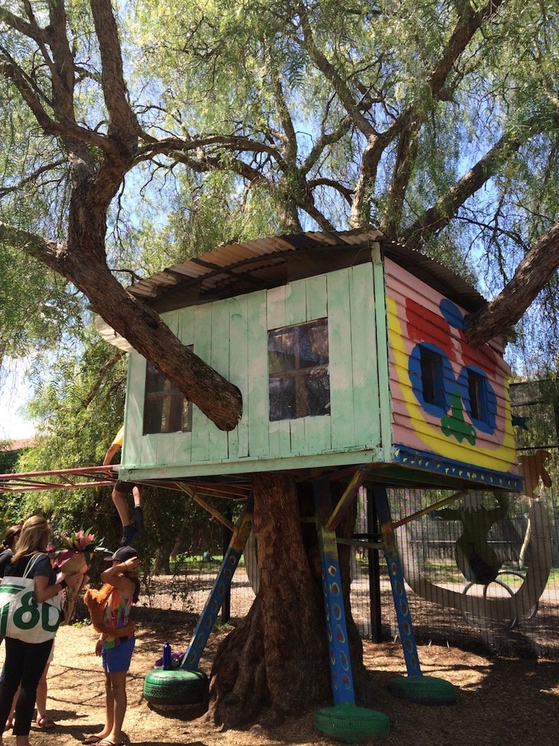 st kilda adventure playground melbourne treehouse pic
