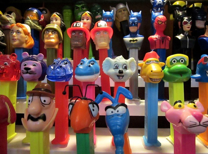 travel souvenirs pez candy by greg goebel