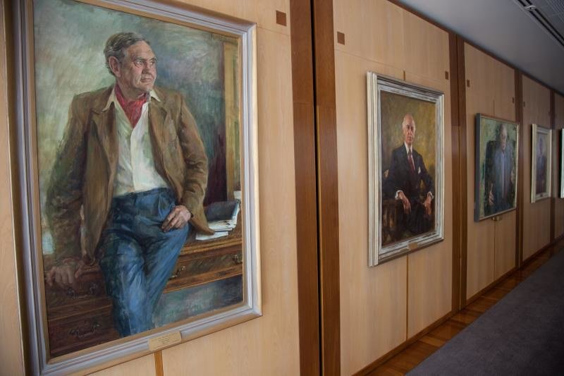 old parliament house prime ministers wall by andy tyler